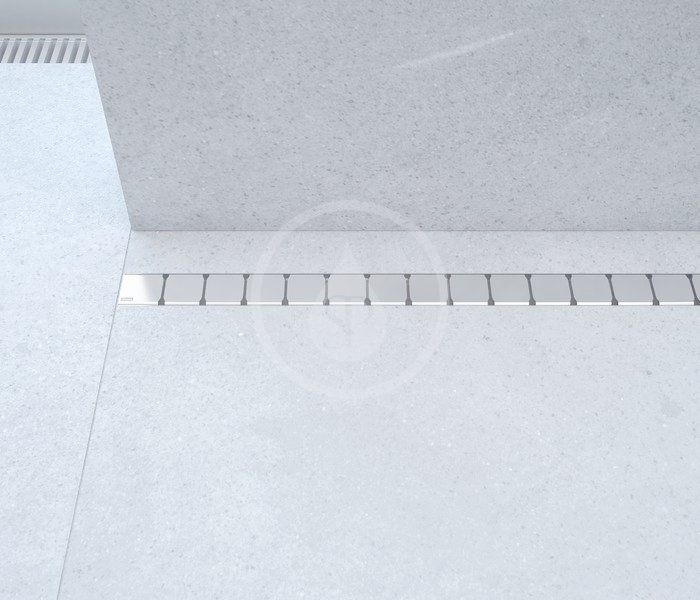 RAVAK - 10° Sprchový odtokový žlab 1050 mm, do prostoru, nerez (X01578)