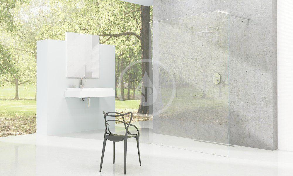 RAVAK - Walk-In Sprchová stěna Walk-in Free 140, 1400x2000 mm, čiré sklo (GW9FM0C00Z1)