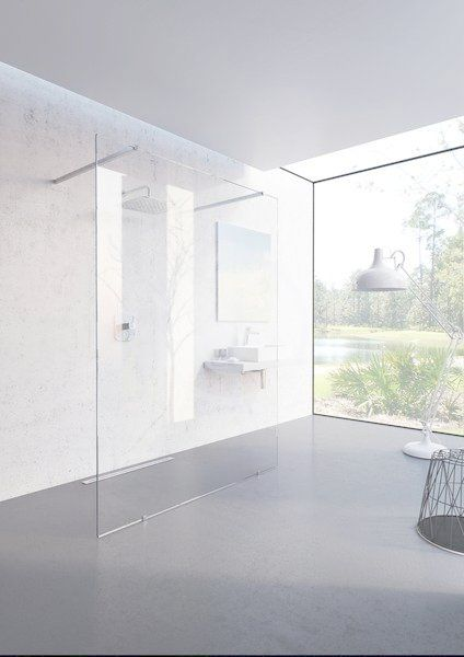 RAVAK - Walk-In Sprchová stěna Walk-in Free 160, 1600x2000 mm, čiré sklo (GW9FS0C00Z1)