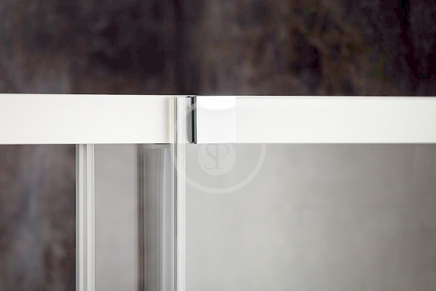 RAVAK - Matrix Sprchové dveře dvoudílné MSD2-100 L, 975-1015 mm, lesklý hliník/čiré sklo (0WLA0C00Z1)