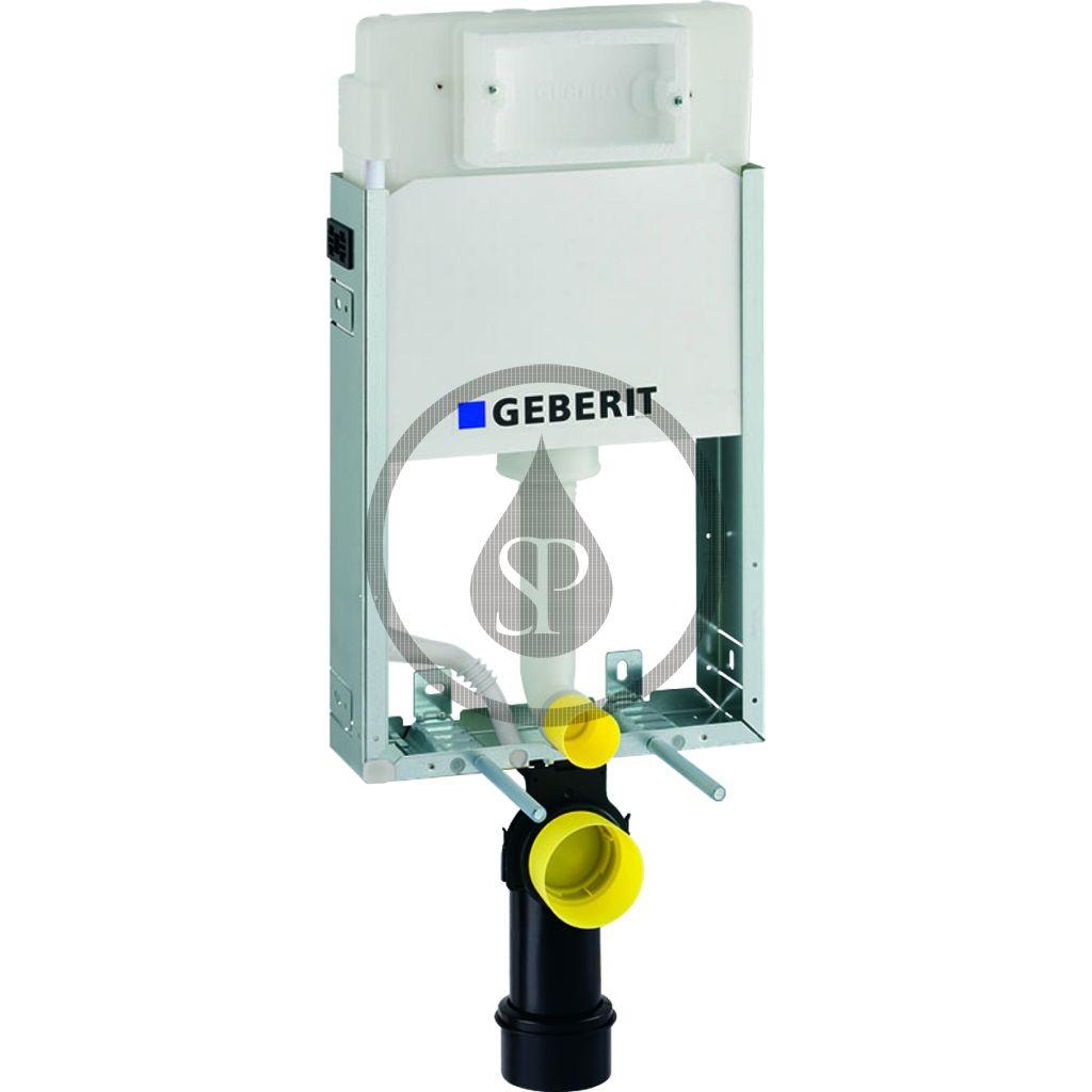GEBERIT Kombifix Montážní prvek Basic pro závěsné WC, 108 cm, splachovací nádržka pod omítku Delta 12 cm 110.100.00.1