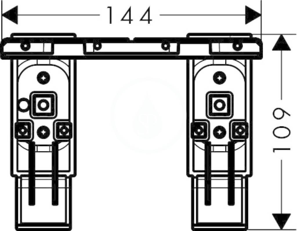 AXOR - Universal Sada adaptéru, chrom (42870000)