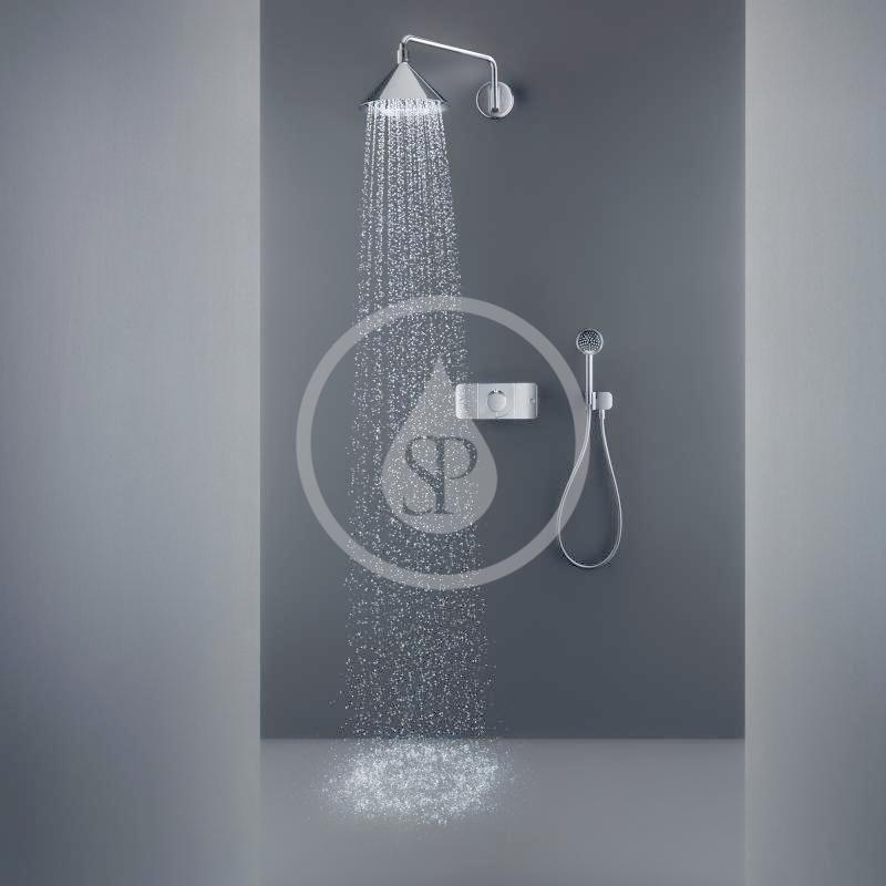 AXOR - Sprchový program Horní sprcha 240 2jet se sprchovým ramenem a designem Front, chrom (26021000)