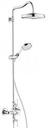 AXOR - Montreux Showerpipe s termostatickou baterií a horní sprchou 1jet, chrom (16572000)