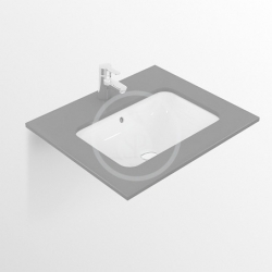 IDEAL STANDARD - Connect Umyvadlo pod desku, 420x350 mm, s přepadem, bílá (E505601)