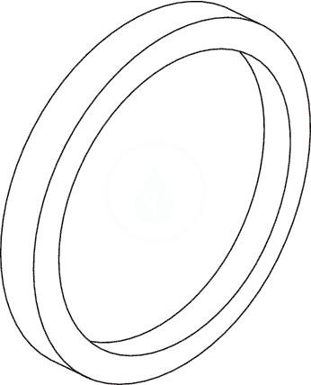 Ideal Standard Podomítkové díly Kruhový distanční rámeček, průměr 163 mm pro pákové a termostatické podomítk. baterie pro mělkou montáž (20 mm), chrom A960705AA