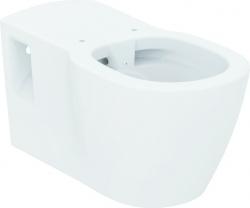 IDEAL STANDARD - Connect Freedom Závěsný klozet pro tělesně postižené 360 x 385 x 700 mm RIMLESS (bez splachovacího kruhu), bílá (E819401)