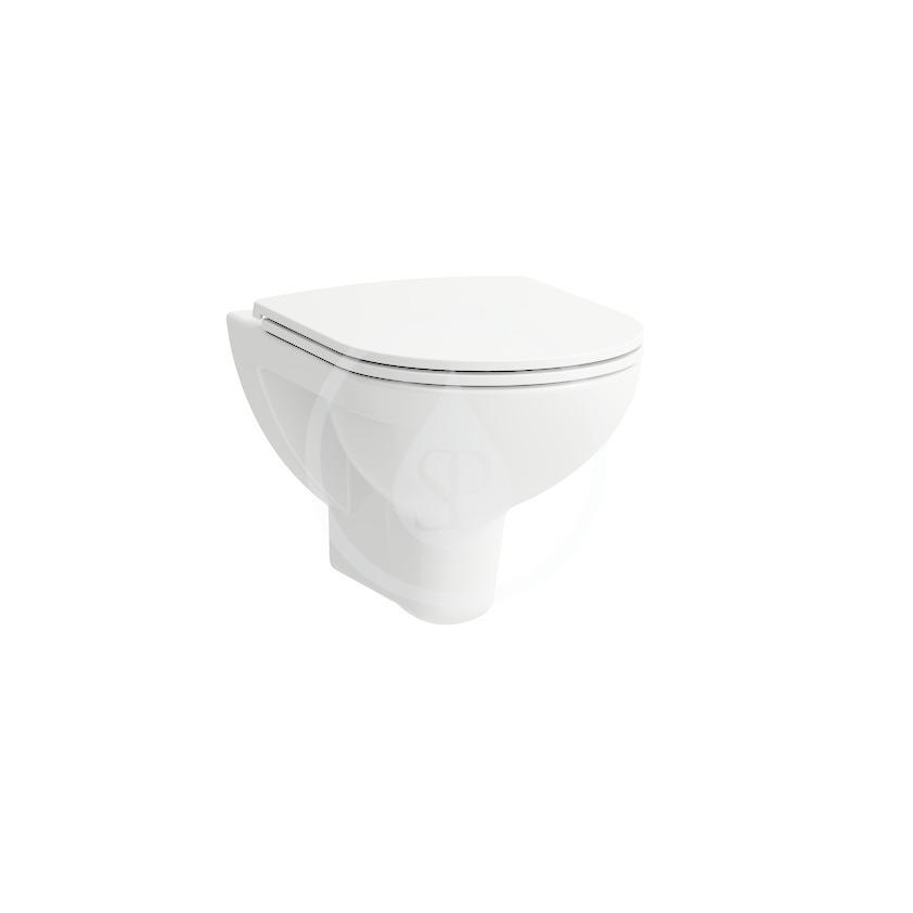 Laufen Pro Závěsné WC, 530x360 mm, rimless, bílá H8209600000001