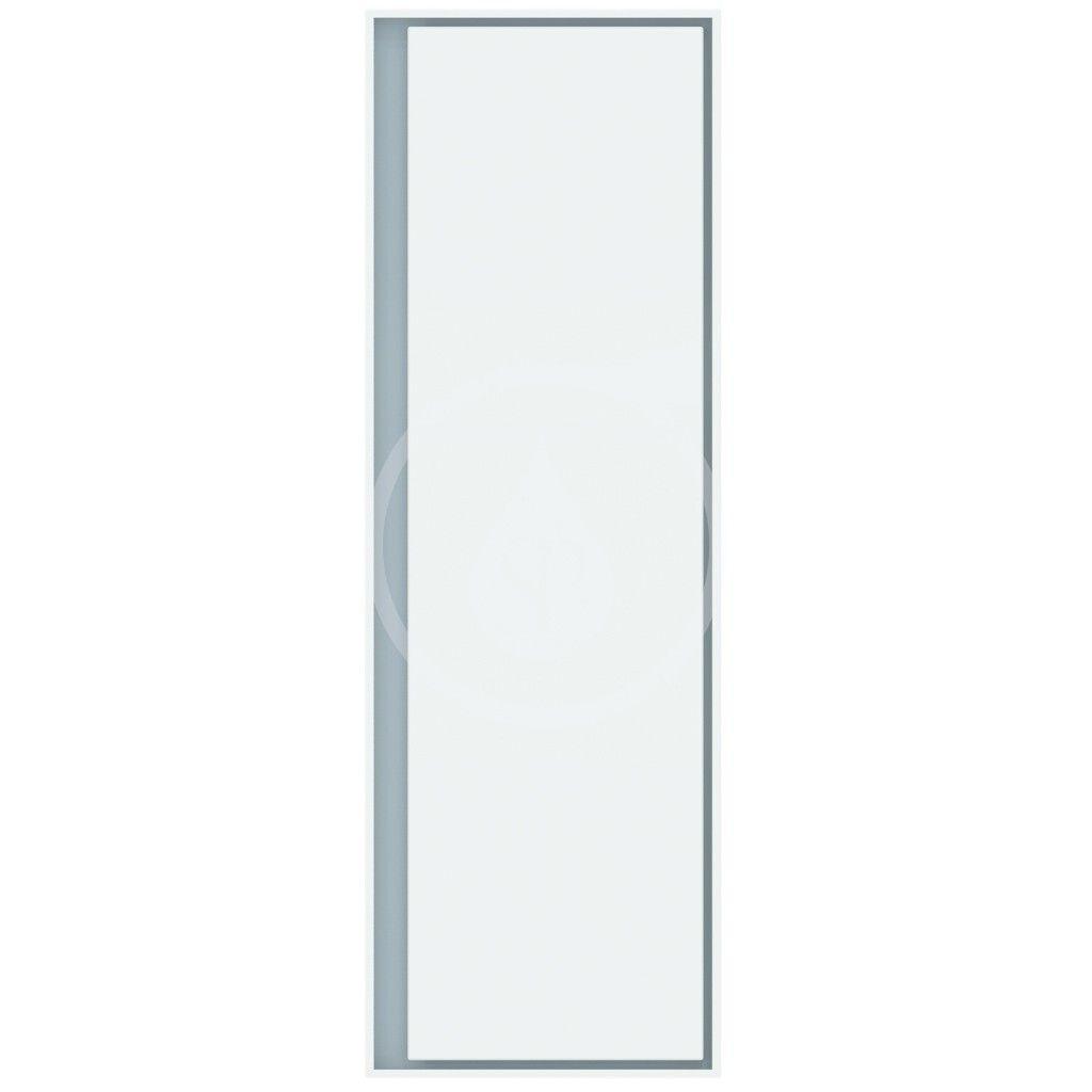 IDEAL STANDARD - Connect Air Vysoká skříňka 400x300x1200 mm, lesklá bílá/matná světle šedá (E0834KN)