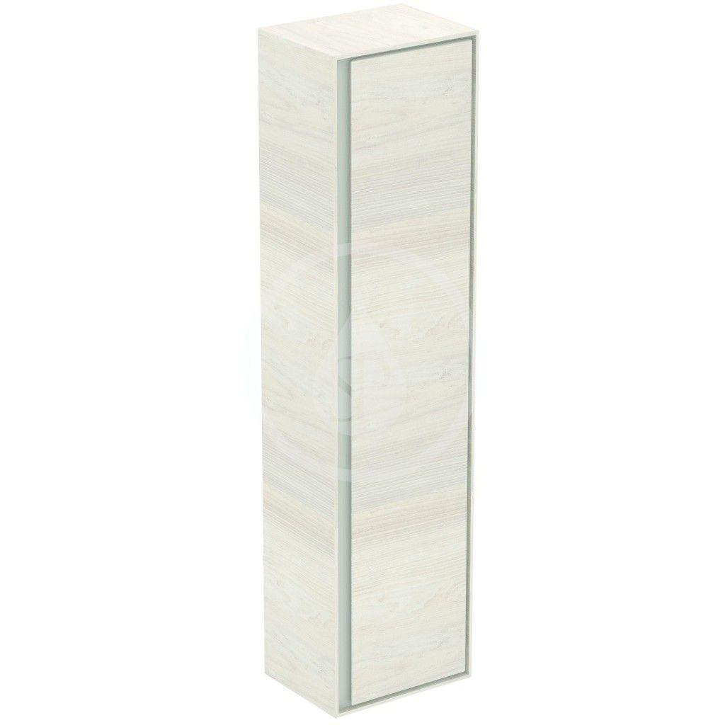 IDEAL STANDARD - Connect Air Vysoká skříňka 400x300x1600 mm, dekor světlé dřevo/světlá hnědá mat (E0832UK)