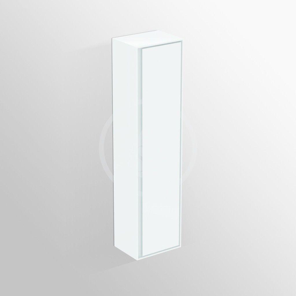 IDEAL STANDARD - Connect Air Vysoká skříňka 400x300x1600 mm, lesklá bílá/bílá mat (E0832B2)