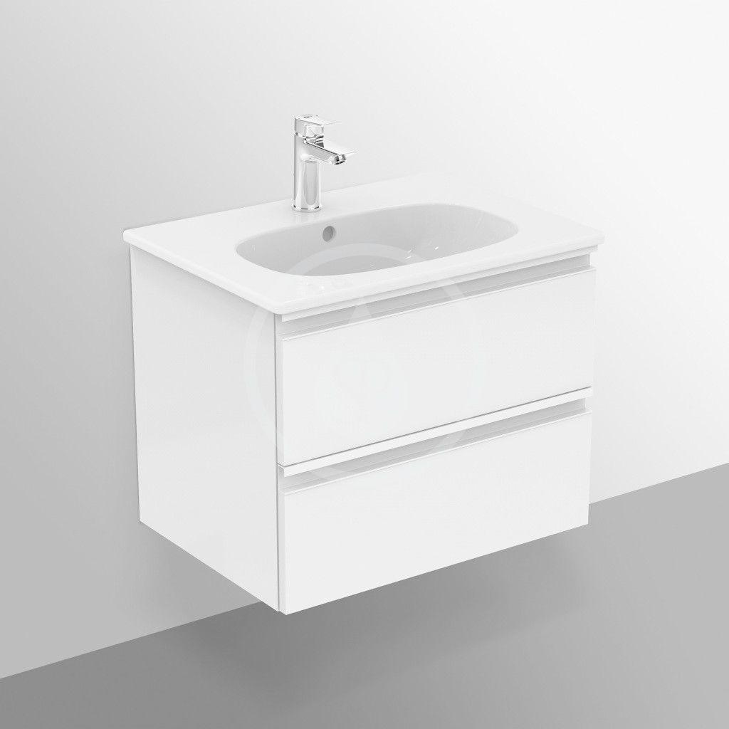 IDEAL STANDARD - Tesi Skříňka pod umyvadlo, 600x440x490 mm, dekor světlé dřevo (T0050VI)