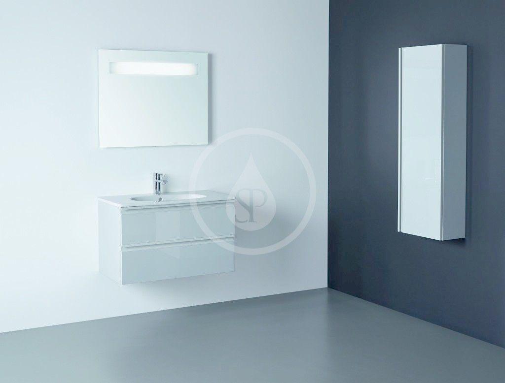IDEAL STANDARD - Tesi Skříňka pod umyvadlo, 800x440x490 mm, lesklá světlá šedá (T0051PH)