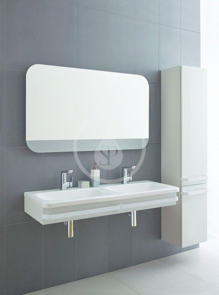 IDEAL STANDARD - Tonic II Vysoká skříňka 350x300x1735 mm, pravá, lesklá bílá (R4315WG)