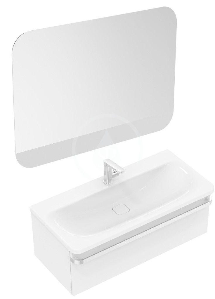 IDEAL STANDARD - Tonic II Skříňka pod umyvadlo, 1000x440x350 mm, lesklá bílá (R4304WG)