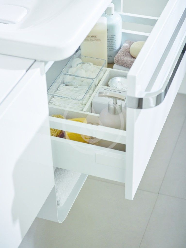 IDEAL STANDARD - Tonic II Skříňka pod umyvadlo, 500x360x350 mm, lesklá světle šedá (R4301FA)