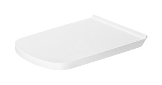 DURAVIT DuraStyle WC sedátko s postranním zpevněním, alpská bílá 0062310000