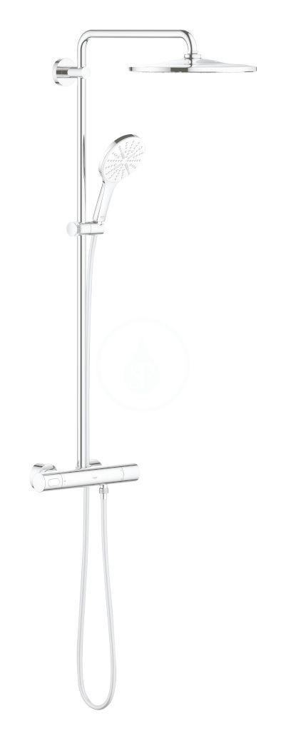 GROHE Rainshower SmartActive Sprchový set 310 s termostatem, 9,5 l/min, 3 proudy, měsíční bílá 26648LS0