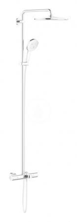 GROHE - Rainshower SmartActive Sprchový set 310 s vanovým termostatem na zeď, 9,5 l/min, 3 proudy, chrom (26657000)