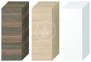 JIKA - Cubito Střední skříňka, 320x810x322 mm, dveře levé, dub (H43J4211105191)