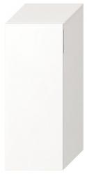 JIKA - Cubito Střední skříňka, 320x810x322mm, dveře pravé, bílá (H43J4211205001)
