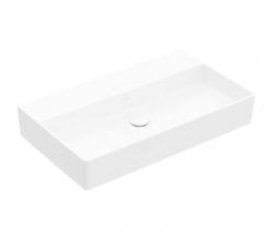 VILLEROY & BOCH - Memento 2.0 Umyvadlo nábytkové 800x470 mm, bez přepadu, bez otvoru pro baterii, alpská bílá (4A228F01)