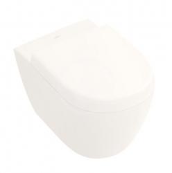 VILLEROY & BOCH - Subway 2.0 Závěsné kompaktní WC, DirectFlush, CeramicPlus, Pergamon (5606R0R3)