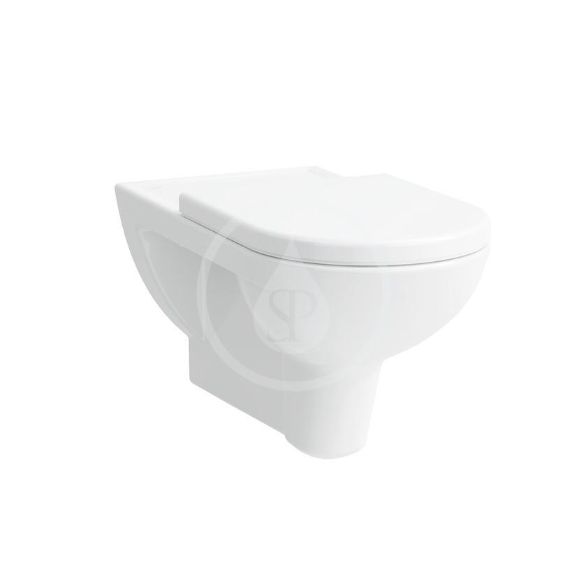 Laufen Pro Liberty Závěsné WC, 700x360 mm, s LCC, bílá H8209544000001