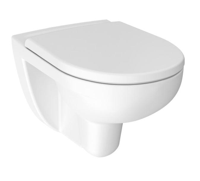 JIKA Lyra plus Závěsné WC, 530x360 mm, Rimless, bílá H8213840000001