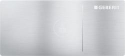 GEBERIT - Omega70 Nábytkové ovládací tlačítko typ 70, pro oddálené ovládání, pro splachovací nádržku pod omítku Omega, kartáčovaný nerez (115.083.FW.1)