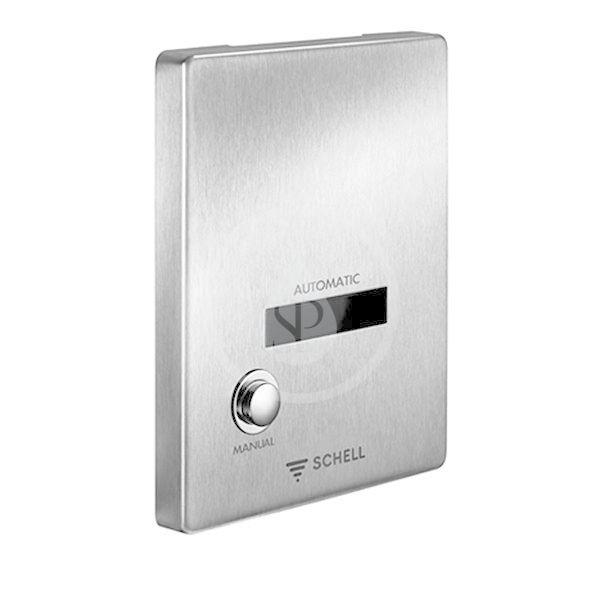 SCHELL Compact II Ovládání EDITION E MANUAL, bateriové napájení, nerez 015462899
