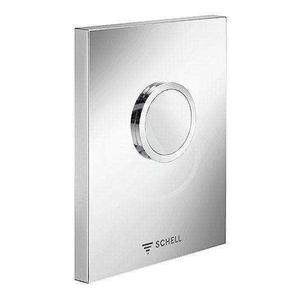 SCHELL Edition Ovládací deska k WC, chrom 028020699