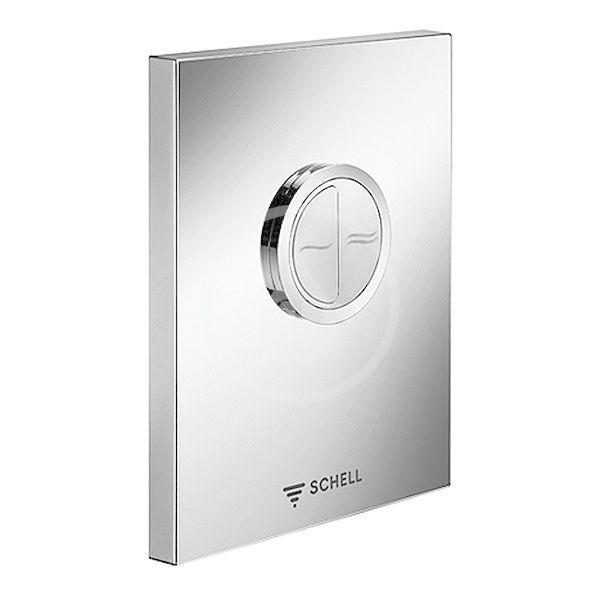 SCHELL Edition Ovládací deska k WC, alpská bílá 028041599