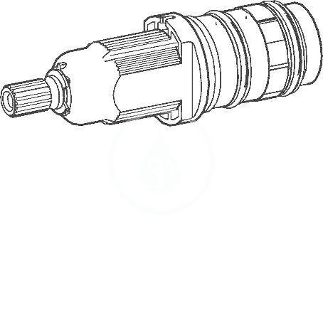 Náhradní díly Termostatická kartuše bez uzavírání HANSA 2.7 59913823