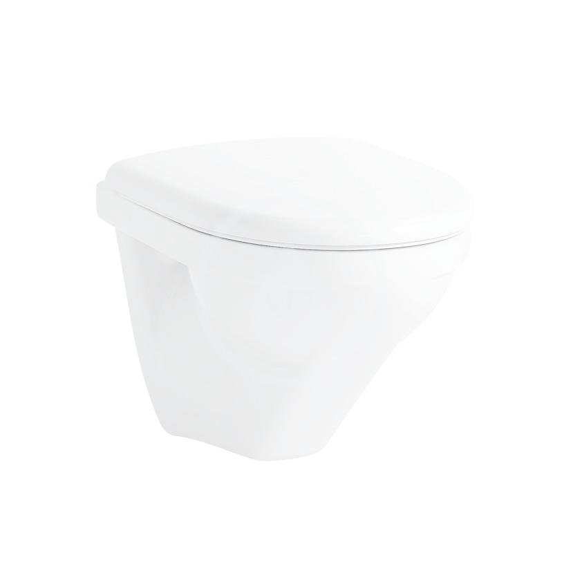 Laufen Moderna Závěsný klozet compact, 490x360 mm, bílá H8205430000001
