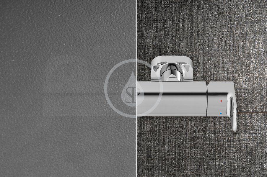 RAVAK - Blix Sprchové dveře čtyřdílné BLDP4-120, 1170-1210 mm, bílá/sklo Grape (0YVG0100ZG)