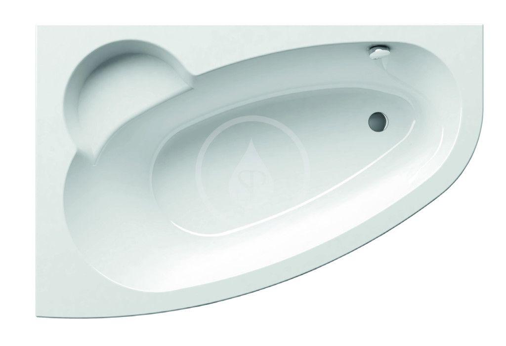 RAVAK Asymmetric Asymetrická vana 160 L, 1600x1050 mm, levé, bílá C461000000