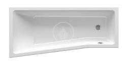 RAVAK - BeHappy II Vana asymetrická 1600x750 mm, pravá, bílá (C971000000)