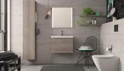 CERSANIT - WC sedátko CITY OVAL SLIM antib. OFF EASY jedno tlačítko  (K98-0146), fotografie 4/5