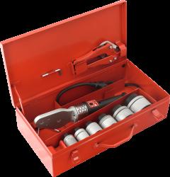 FV - Plast - Svářečka v kufru trnová FV SE42 PROFI SET 850W s nástavci 20 25 32 40 50 63 75 (AA410000042)