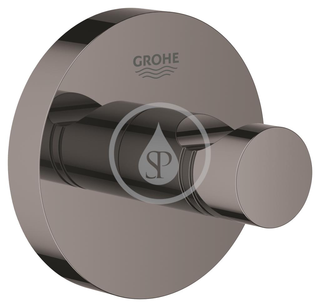 GROHE Essentials Háček na koupací plášť, tmavý grafit 40364A01