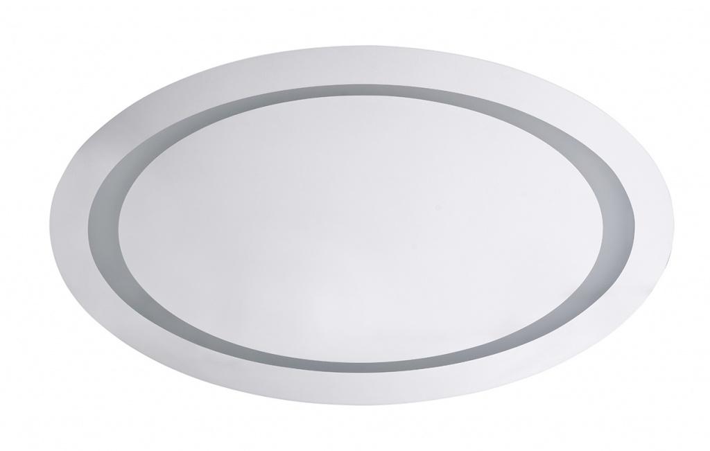 BEMETA zrcadlo oválné s osvětlením a pohybovým senzorem 800x500mm 128301019