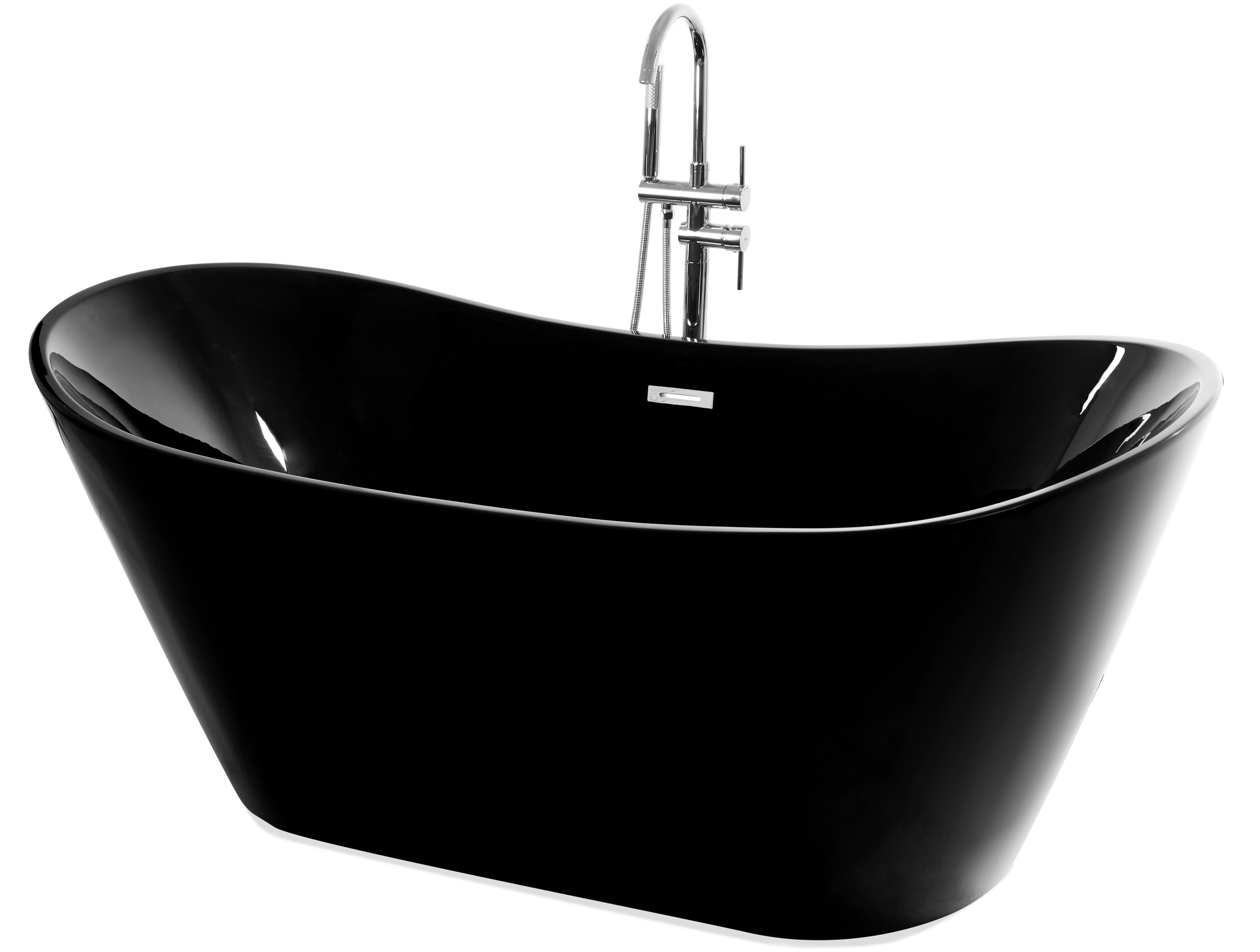 REA Volně stojící vana Ferrano 170 černá REA-W6000
