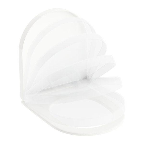 RAVAK - Chrome WC sedátko se sklápěním SoftClose, bílá (X01451)