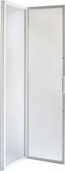 Sprchové dveře DIANA - Barva rámu zástěny - Hliník bílý, Provedení - Univerzální, Šíře - 90 cm, Výplň - Polystyrol 2,2 mm (acrilico), Výška - 185 cm (OLBSZ90) - HOPA