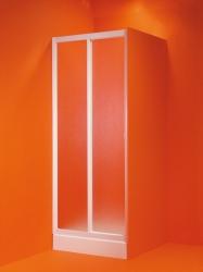 HOPA - Sprchové dveře PORTA - Barva rámu zástěny - Plast bílý, Rozměr A - 100 cm, Směr zavírání - Univerzální Levé / Pravé, Výplň - Polystyrol 2,2 mm (acrilico) (OLBMAE10EX)