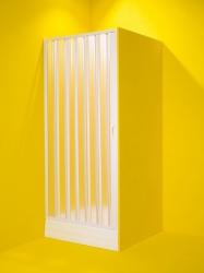 Sprchové dveře MARTE - Barva rámu zástěny - Plast bílý, Provedení - Univerzální, Šíře - 80 cm (OLBMAR80) - HOPA