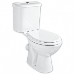 HOPA - WC kombi CARMINA - zadní odpad - WC sedátko - Bez sedátka (OLKGCA04KLZ02M)