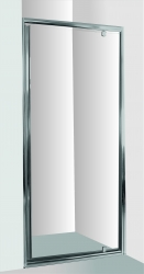 Sprchové dveře do niky SMART - ALARO - Barva rámu zástěny - Hliník chrom, Provedení - Univerzální, Šíře - 70 cm, Výplň - Čiré bezpečnostní sklo - 6 mm (OLBALA70CCBV) - HOPA