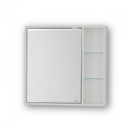 HOPA - Horní závěsná zrcadlová skříňka SÉVIS - Rozměry skříněk - 50 × 58,5 × 14 cm (OLNSEV50)
